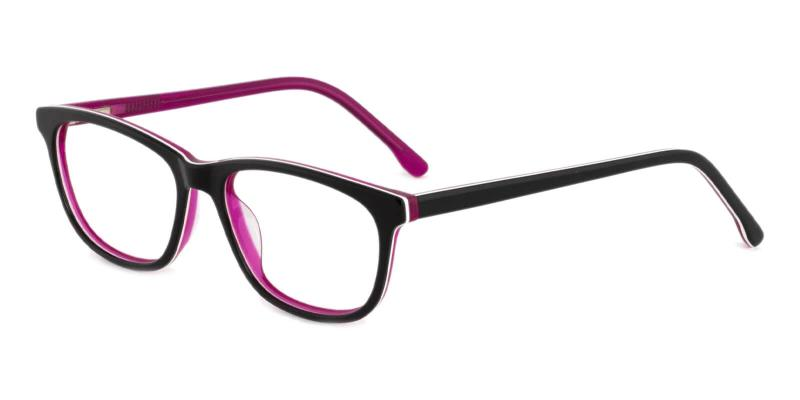 Purple Machovec - Acetate ,Universal Bridge Fit