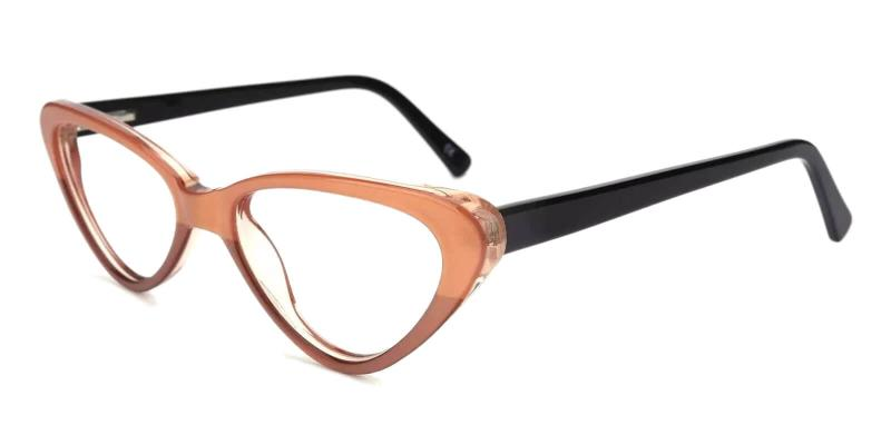 Brown Hannah - Acetate ,Universal Bridge Fit