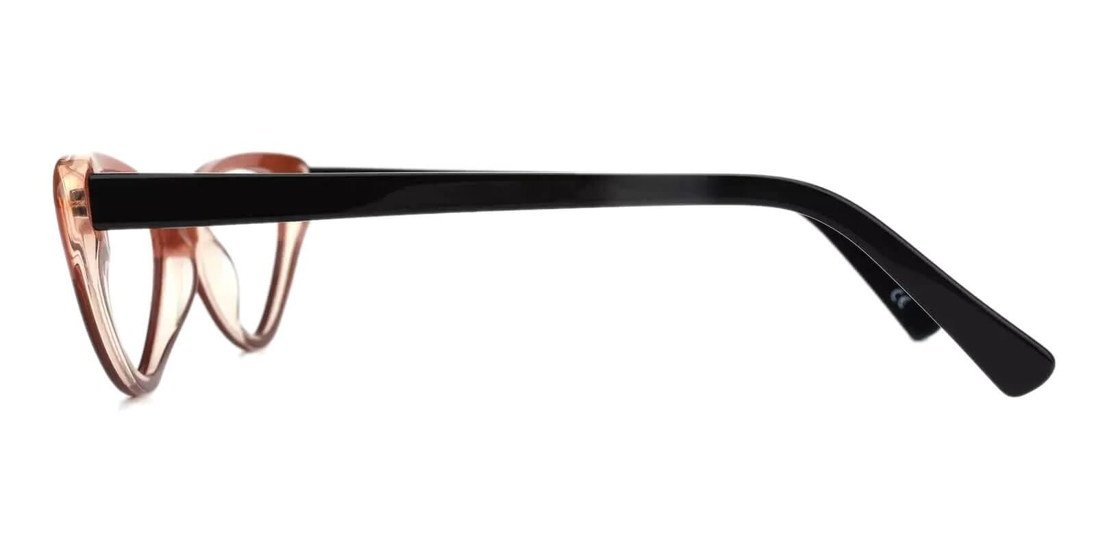 Hannah Brown Acetate Eyeglasses , SpringHinges , UniversalBridgeFit Frames from ABBE Glasses