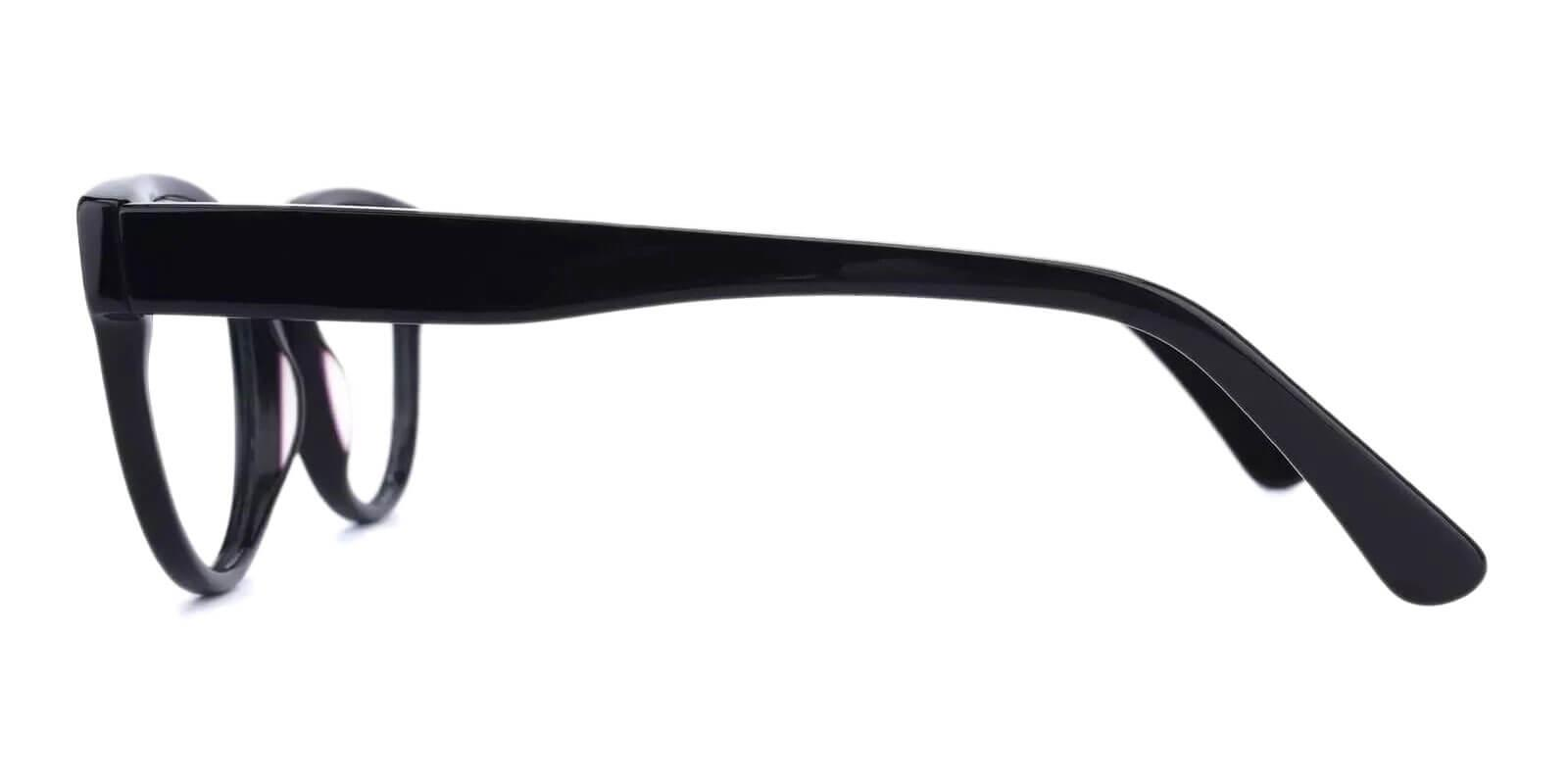 Aurora Black Acetate Eyeglasses , Fashion , SpringHinges , UniversalBridgeFit Frames from ABBE Glasses