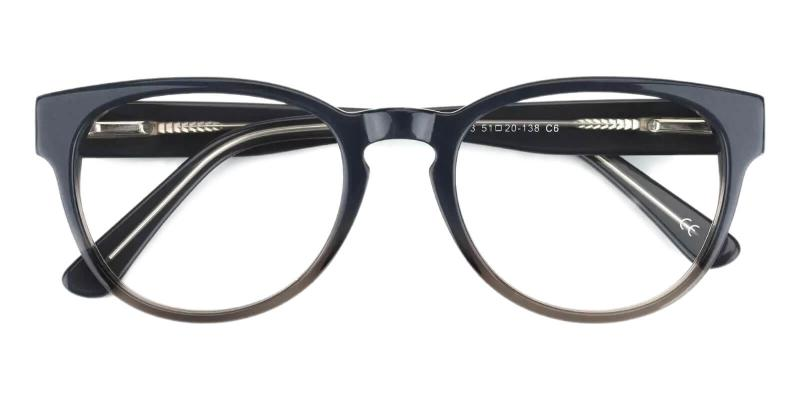Aurora - Acetate Eyeglasses , Fashion , SpringHinges , UniversalBridgeFit
