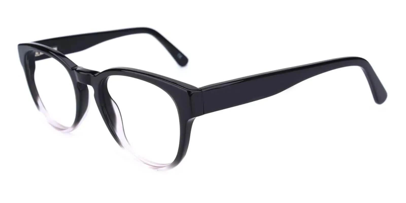 Aurora Translucent Acetate Eyeglasses , Fashion , SpringHinges , UniversalBridgeFit Frames from ABBE Glasses