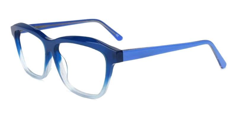 Blue Sonia - Acetate ,Universal Bridge Fit
