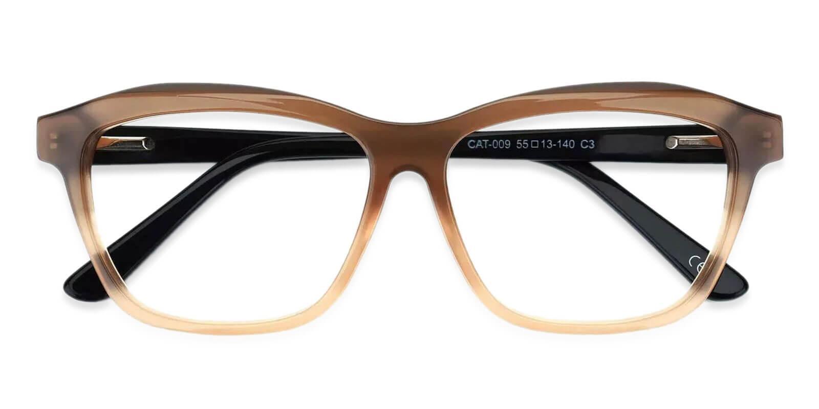Sonia Cream Acetate Eyeglasses , SpringHinges , UniversalBridgeFit Frames from ABBE Glasses