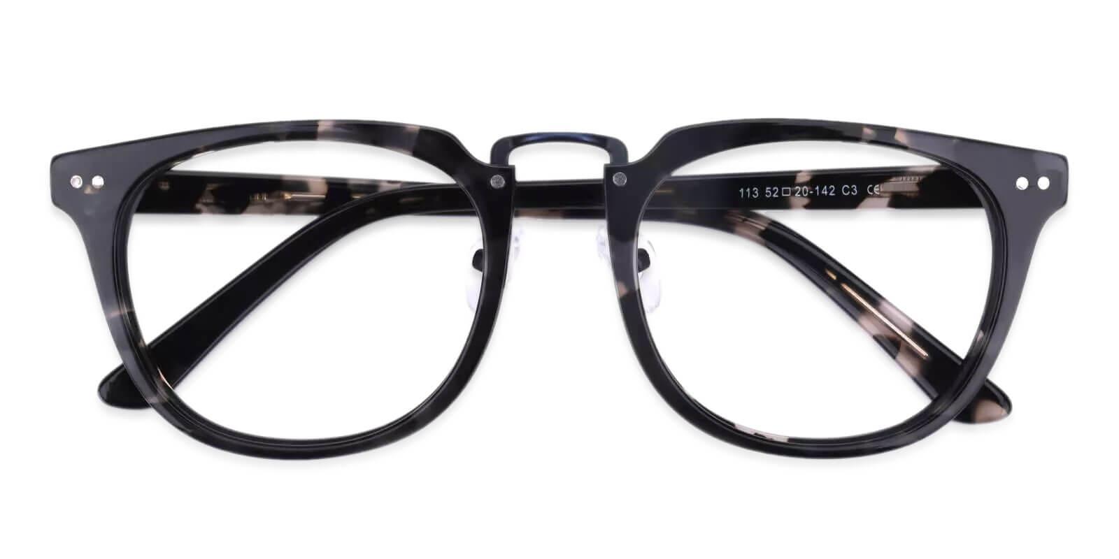 Latrobe Pattern Acetate Eyeglasses , NosePads Frames from ABBE Glasses