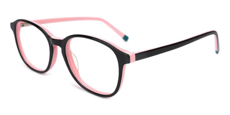 Pink Fogelsville - Acetate ,Universal Bridge Fit