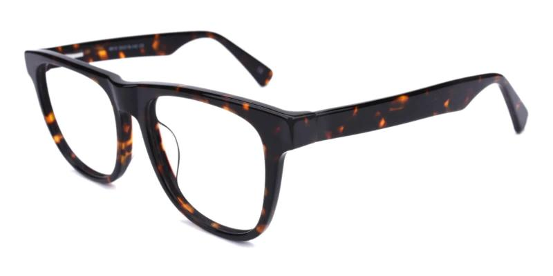 Tortoise New Florence - Acetate ,Universal Bridge Fit
