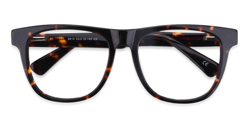 Tortoise New Florence - Acetate Eyeglasses , SpringHinges , UniversalBridgeFit