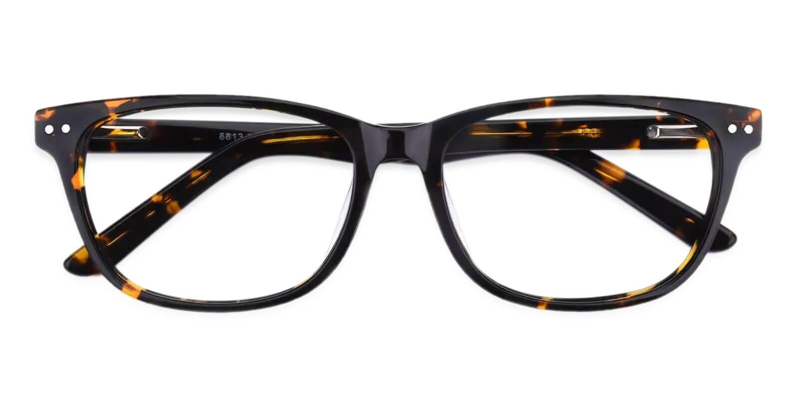 Alta Tortoise Acetate Eyeglasses , SpringHinges , UniversalBridgeFit Frames from ABBE Glasses