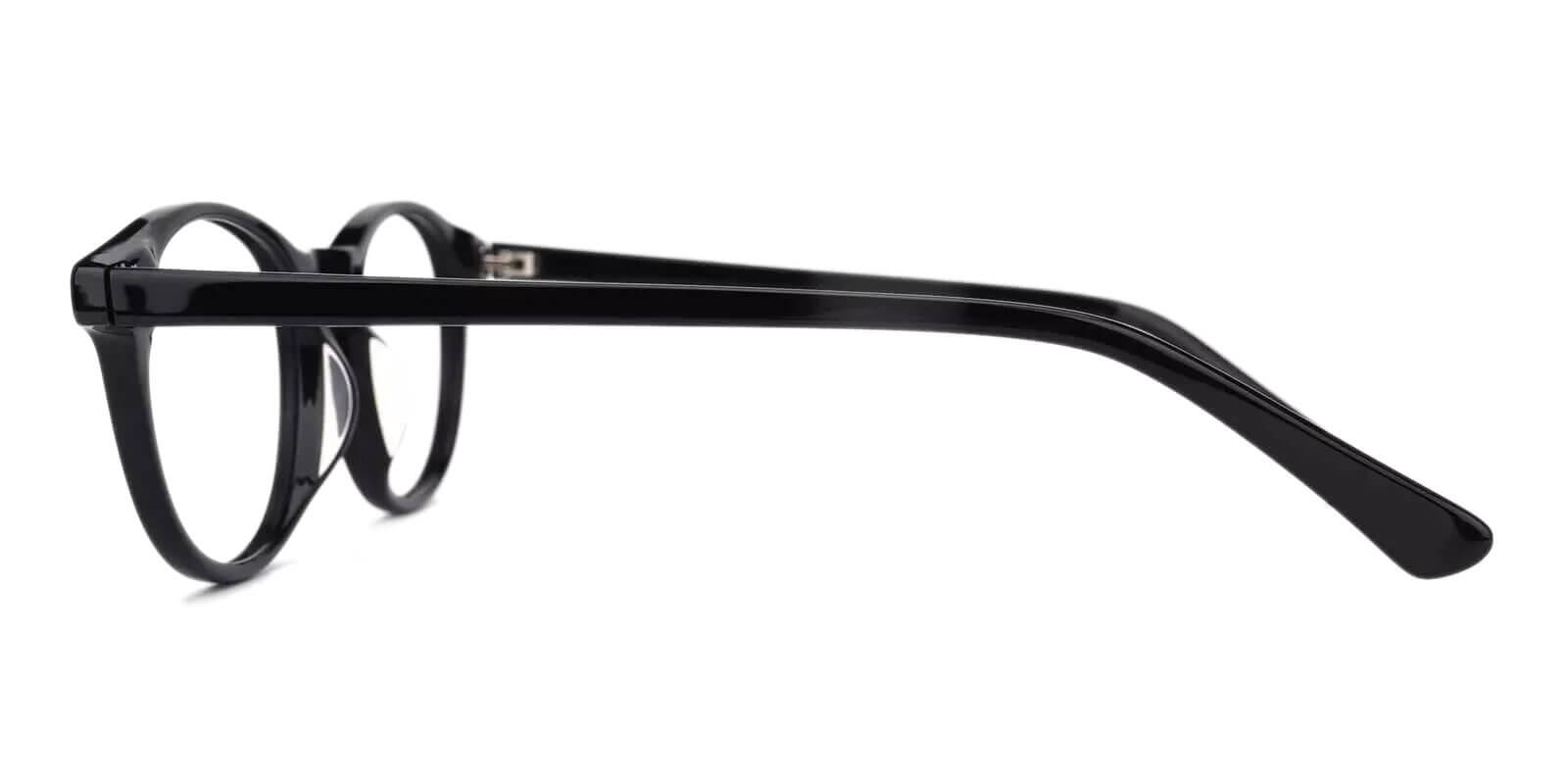 Holly Grove Black Acetate Eyeglasses , UniversalBridgeFit Frames from ABBE Glasses