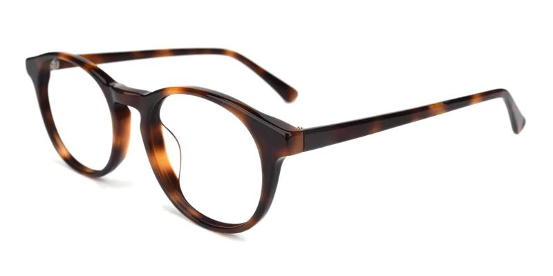 Tortoise Holly Grove - Acetate Eyeglasses , UniversalBridgeFit