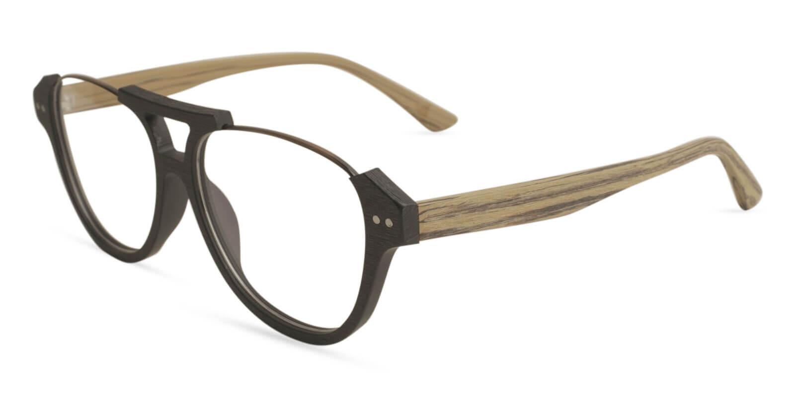 Ocean Gate Cream Combination Eyeglasses , UniversalBridgeFit Frames from ABBE Glasses