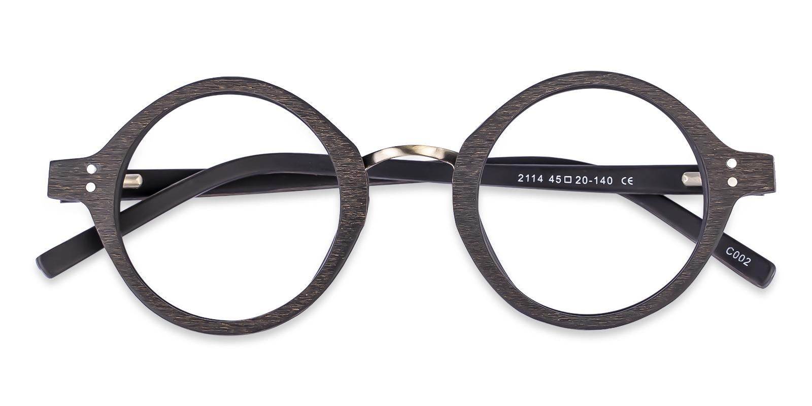 Piggott Striped Acetate Eyeglasses , SpringHinges , UniversalBridgeFit Frames from ABBE Glasses