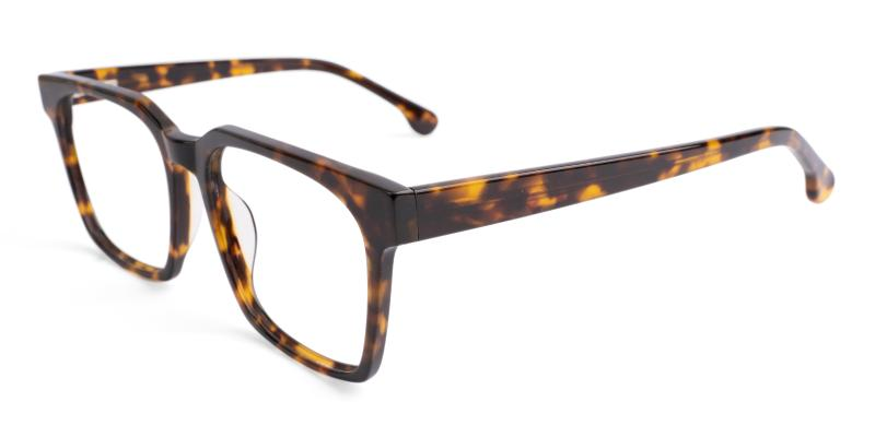 Tortoise Gilbert - Acetate ,Universal Bridge Fit