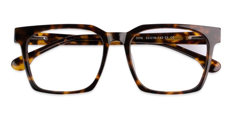 Tortoise Gilbert - Acetate Eyeglasses , UniversalBridgeFit