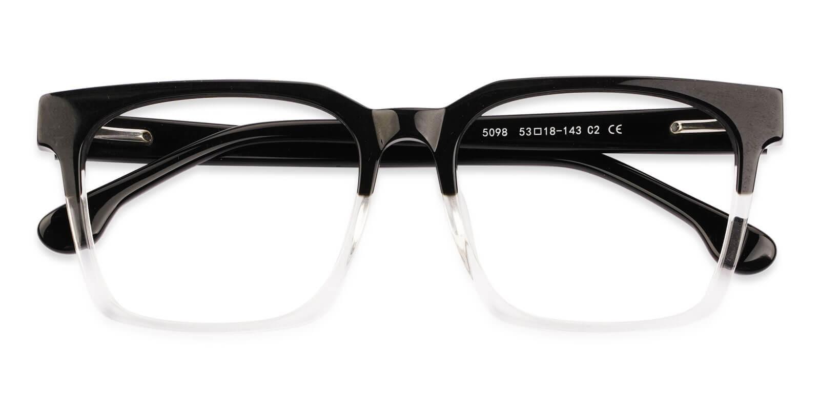 Gilbert Translucent Acetate Eyeglasses , UniversalBridgeFit Frames from ABBE Glasses