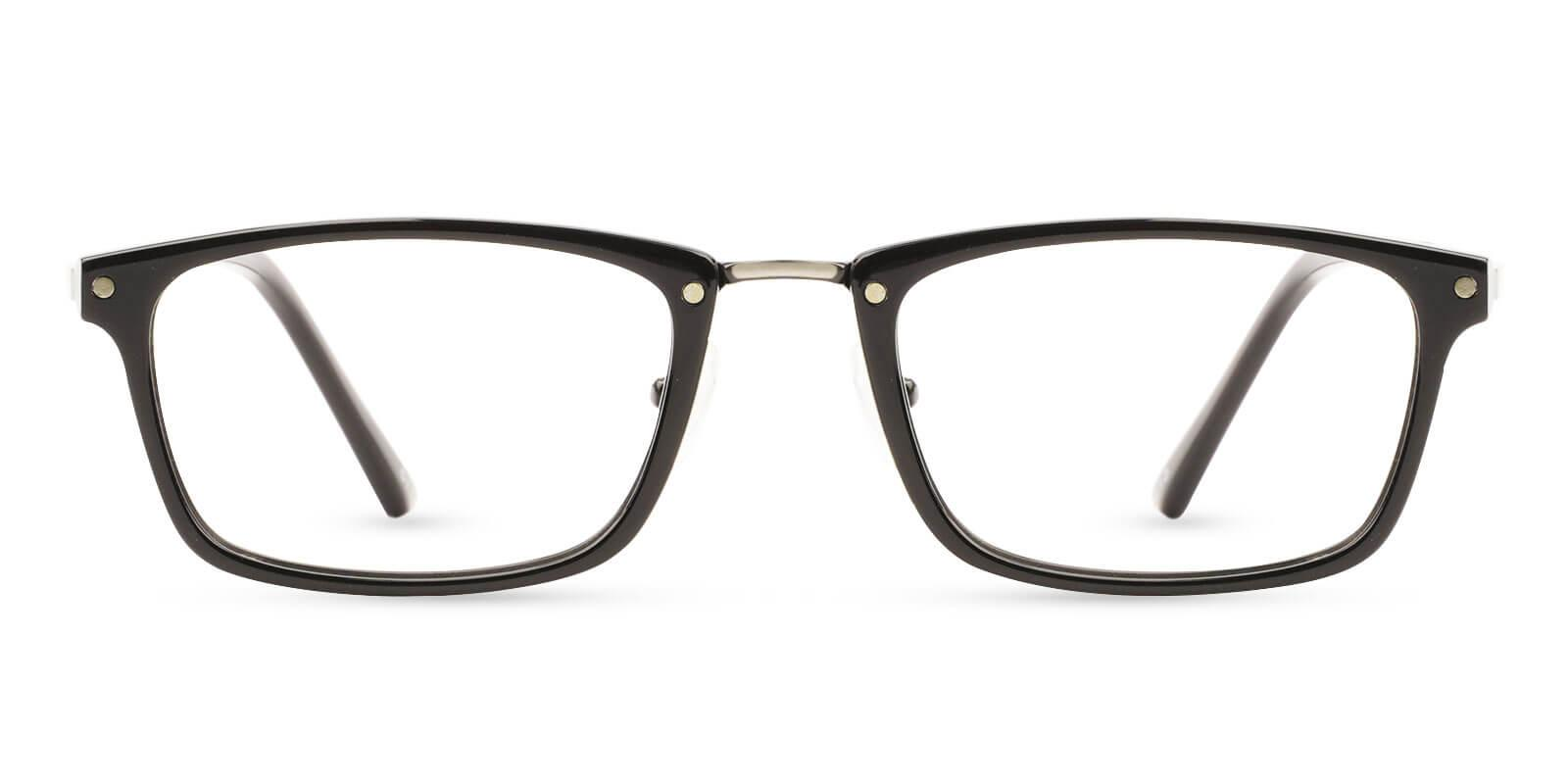 Norway Black Combination Eyeglasses , NosePads Frames from ABBE Glasses