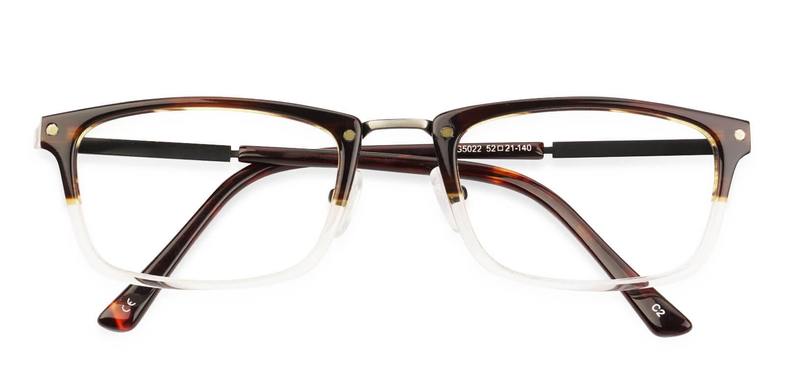 Norway Tortoise Combination Eyeglasses , NosePads Frames from ABBE Glasses