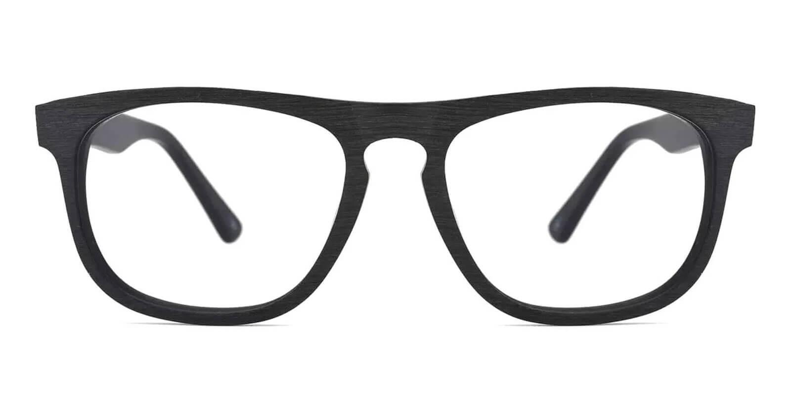 Readsboro Black Acetate Eyeglasses , UniversalBridgeFit Frames from ABBE Glasses