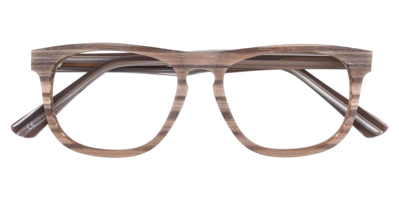 Readsboro Brown Acetate Eyeglasses , UniversalBridgeFit Frames from ABBE Glasses