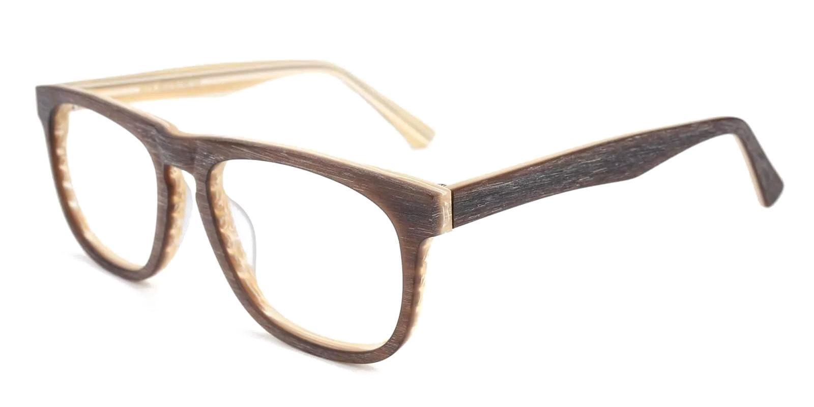 Readsboro Striped Acetate Eyeglasses , UniversalBridgeFit Frames from ABBE Glasses