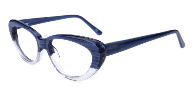 Blue Stella - Acetate ,Universal Bridge Fit