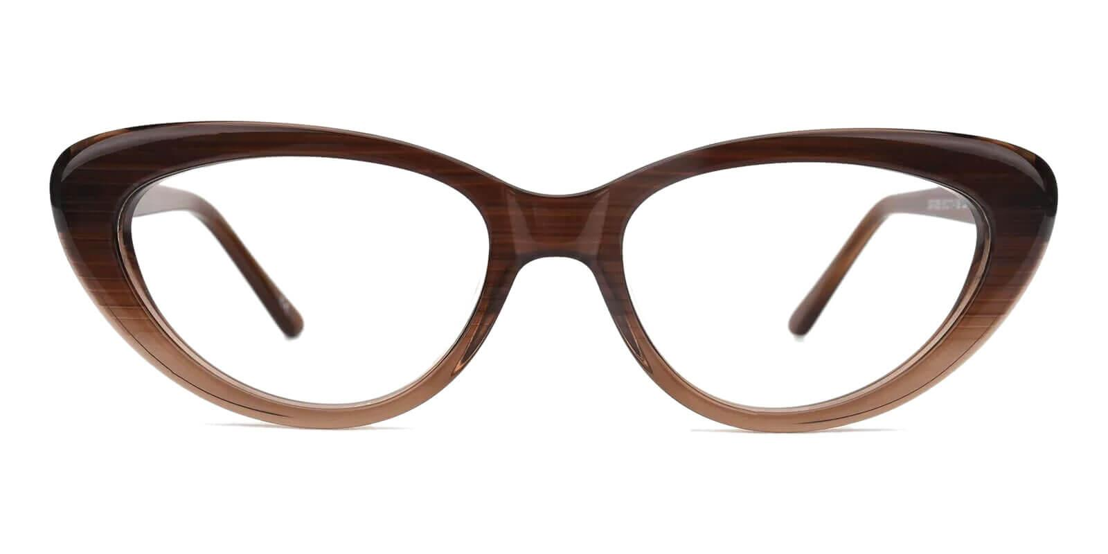Stella Cream Acetate Eyeglasses , SpringHinges , UniversalBridgeFit Frames from ABBE Glasses