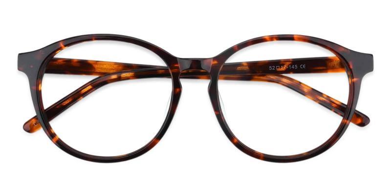 Tortoise Wasco - Acetate Eyeglasses , UniversalBridgeFit