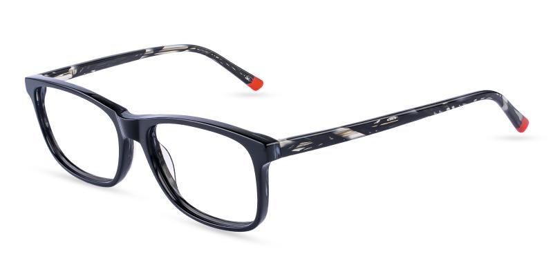 Pattern Gilcres - Acetate Eyeglasses , SpringHinges , UniversalBridgeFit