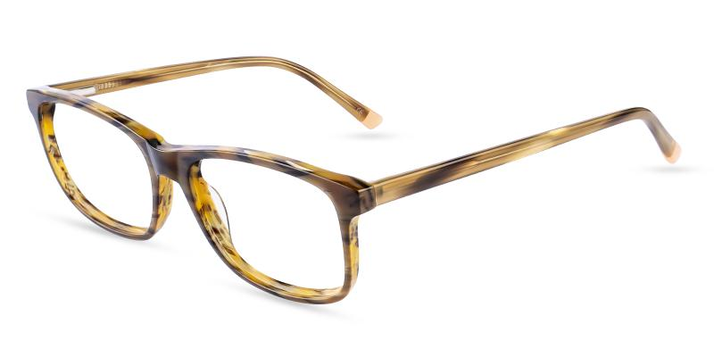 Striped Gilcres - Acetate ,Universal Bridge Fit