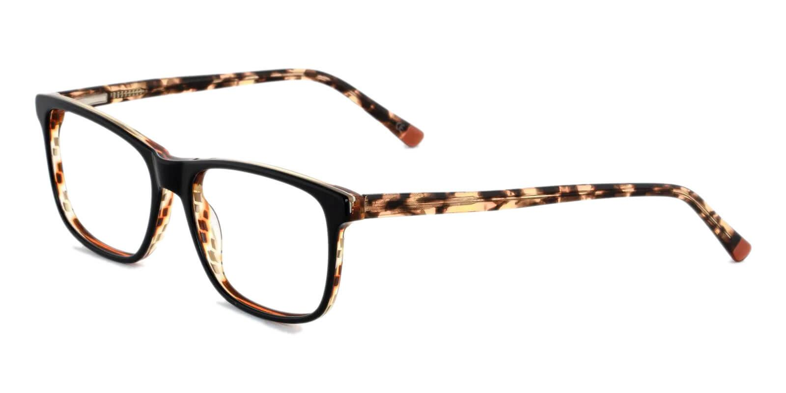 Gilcres Tortoise Acetate Eyeglasses , SpringHinges , UniversalBridgeFit Frames from ABBE Glasses