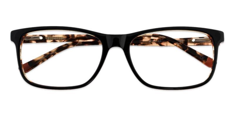 Tortoise Gilcres - Acetate Eyeglasses , SpringHinges , UniversalBridgeFit