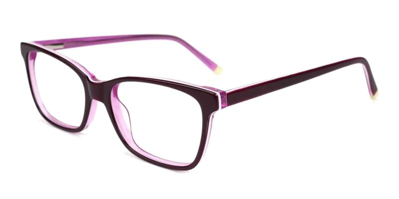 Purple RingGold - Acetate ,Universal Bridge Fit