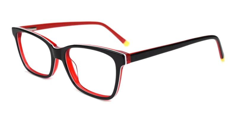 Red RingGold - Acetate ,Universal Bridge Fit