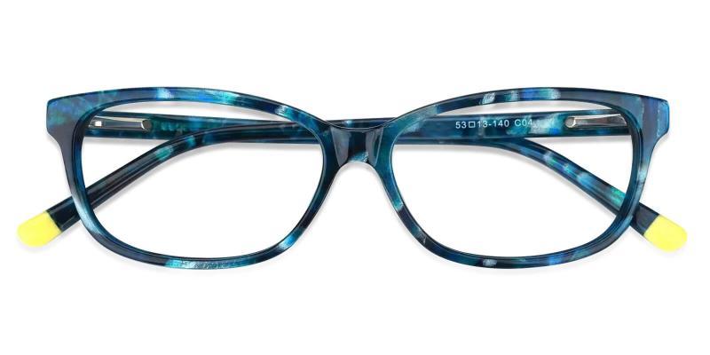 Blue Levant - Acetate Eyeglasses , SpringHinges , UniversalBridgeFit