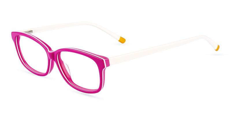 Pink Levant - Acetate ,Universal Bridge Fit