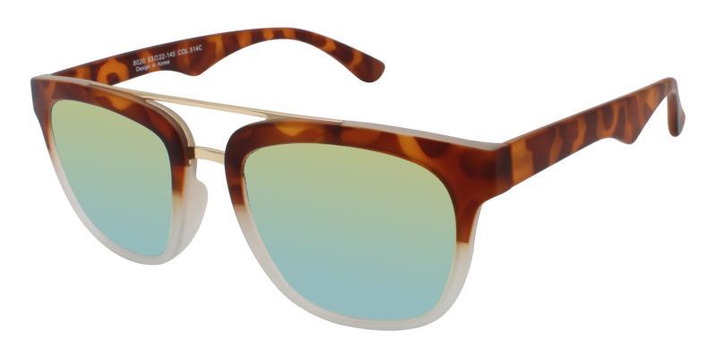 Leopard Charlotte - TR Sunglasses , UniversalBridgeFit