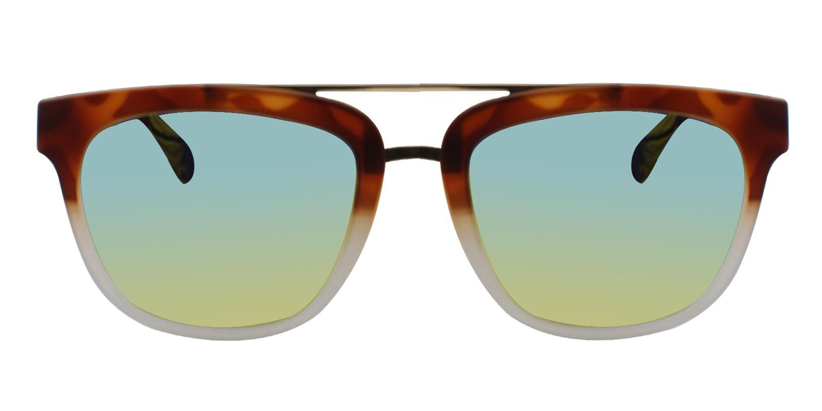 Charlotte Leopard TR Sunglasses , UniversalBridgeFit Frames from ABBE Glasses