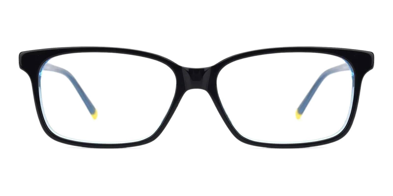 Lochloosa Blue Acetate Eyeglasses , SpringHinges , UniversalBridgeFit Frames from ABBE Glasses