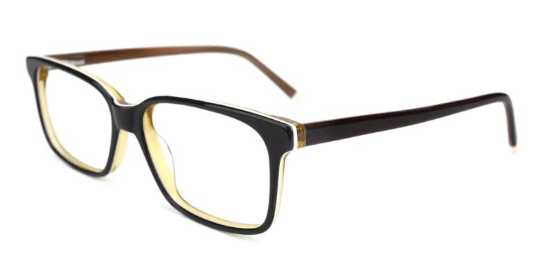 Brown Lochloosa - Acetate ,Universal Bridge Fit