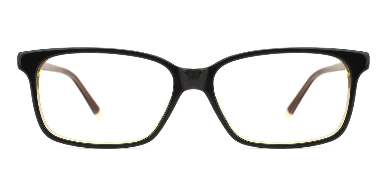 Lochloosa Brown Acetate Eyeglasses , SpringHinges , UniversalBridgeFit Frames from ABBE Glasses