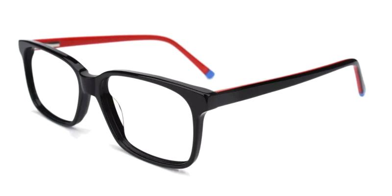 Red Lochloosa - Acetate ,Universal Bridge Fit