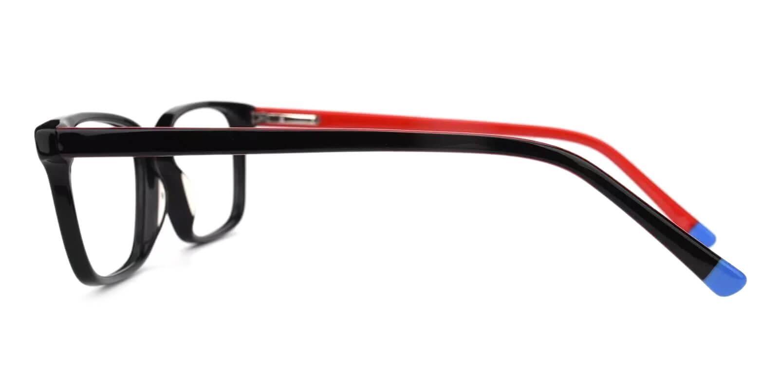 Lochloosa Red Acetate Eyeglasses , SpringHinges , UniversalBridgeFit Frames from ABBE Glasses