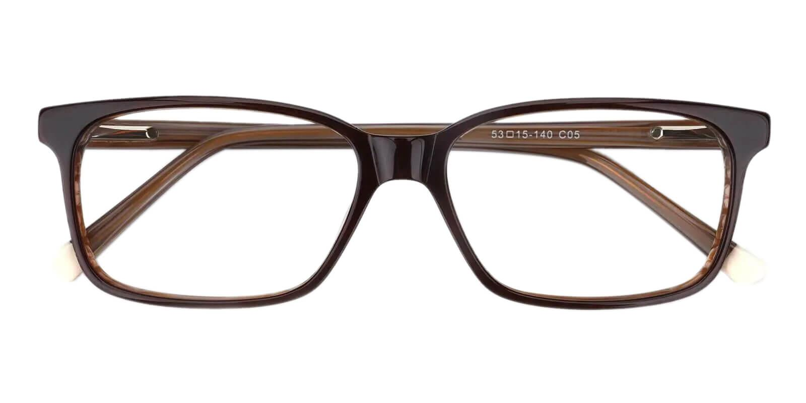 Lochloosa Striped Acetate Eyeglasses , SpringHinges , UniversalBridgeFit Frames from ABBE Glasses