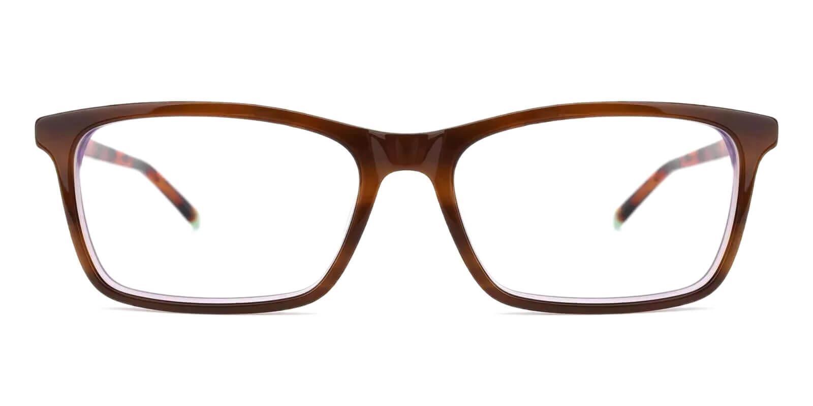 Quasqueton Tortoise Acetate Eyeglasses , SpringHinges , UniversalBridgeFit Frames from ABBE Glasses