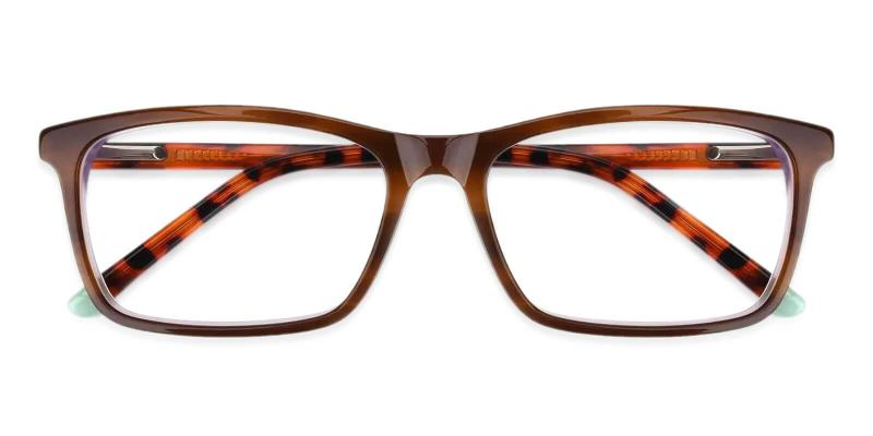 Quasqueton - Acetate Eyeglasses , SpringHinges , UniversalBridgeFit