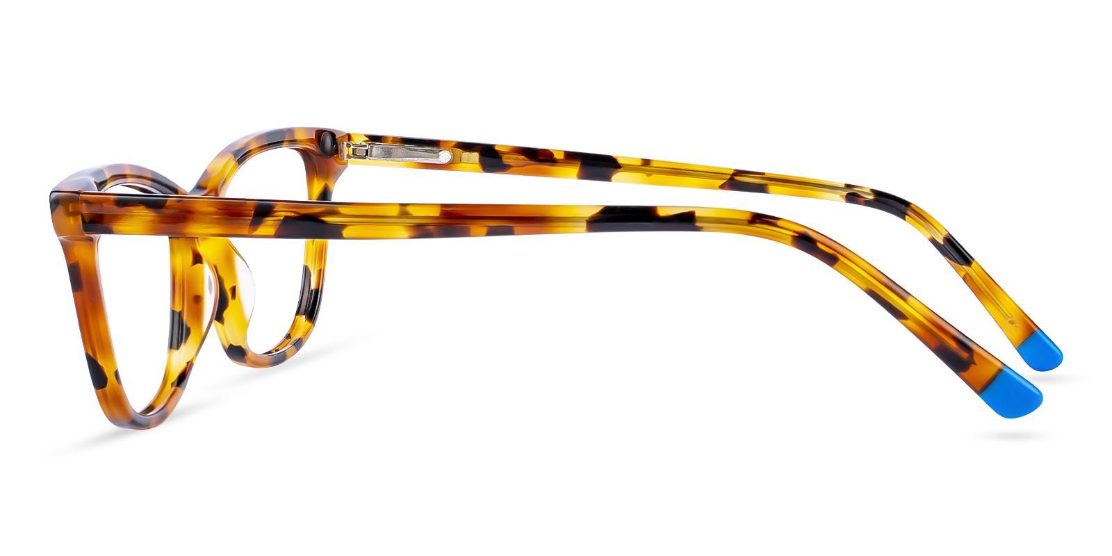 Zion Leopard Acetate Eyeglasses , SpringHinges , UniversalBridgeFit Frames from ABBE Glasses