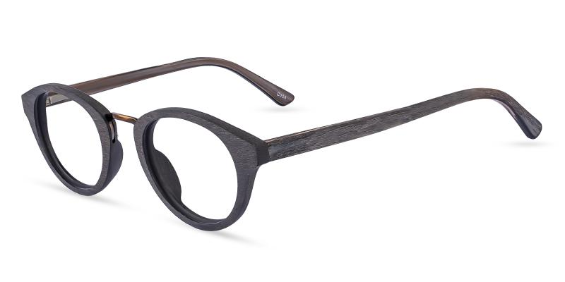 Brown New Haven - Acetate ,Universal Bridge Fit