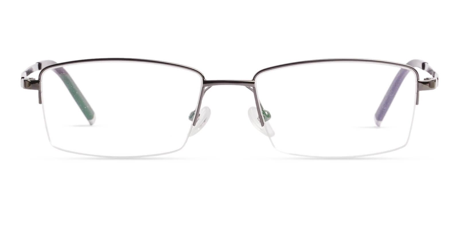 Liam Gun Titanium Eyeglasses , NosePads Frames from ABBE Glasses