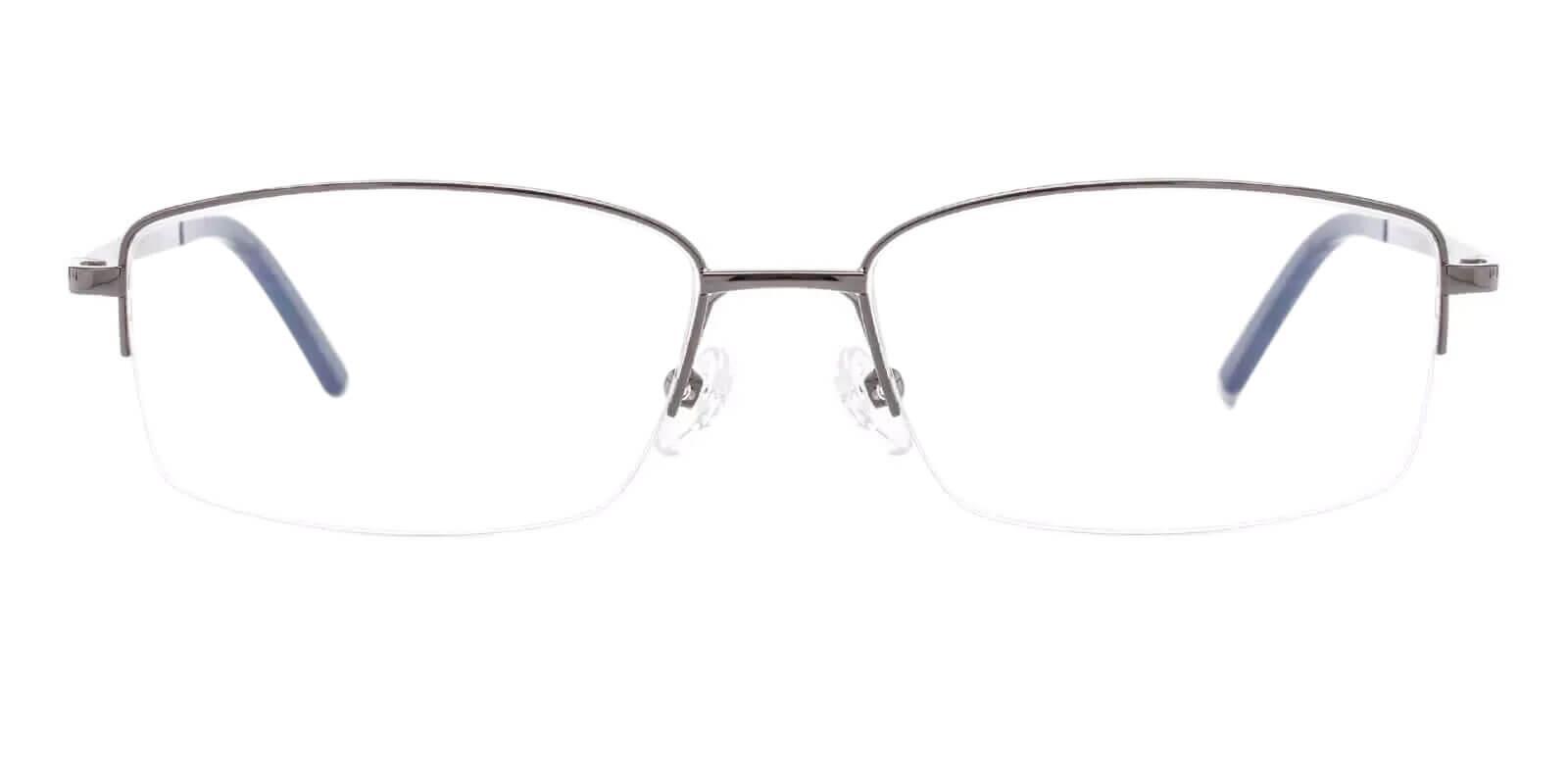 Noah Gun Titanium Eyeglasses , NosePads Frames from ABBE Glasses